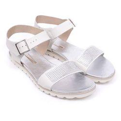 Sandały damskie Ryłko S1H30A biały-BM8 36 biały