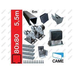 Zestaw do bram przesuwnych CAME 80x80mm, Fe
