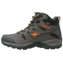 KangaROOS Buty trekkingowe dark brown/orange