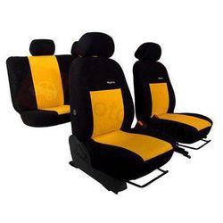 Pokrowce samochodowe ELEGANCE Żółte Audi 80 B3 1986-1996 - Żółty
