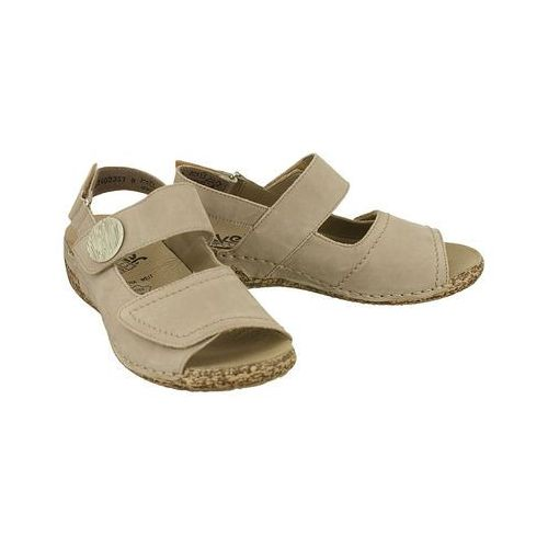 487134bb49a3d RIEKER V7272-42 grey, sandały damskie - porównaj zanim kupisz