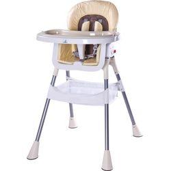 Krzesełko do karmienia CARETERO Pop cappuccino