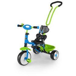 Milly Mally, Boby 2015, rowerek, niebiesko-zielony Darmowa dostawa do sklepów SMYK