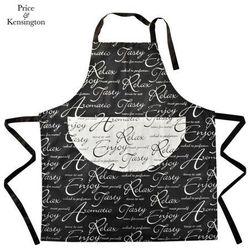 Price & Kensington Fartuch kuchenny Czarno-biały