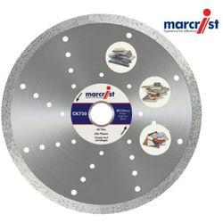 MARCRIST Tarcza diamentowa do glazury, marmuru, granitu CK750 200x30/25,4mm bez kołnierza do maszyn stołowych (MC1125.1200.30)