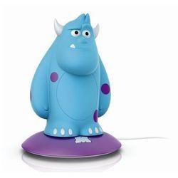 DISNEY - Lampka nocna ładowana Softpal LED Monsters Sulley Wys.15,4cm