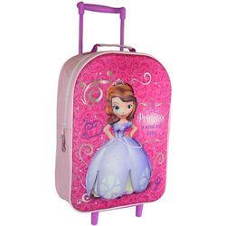 DISNEY Sofia 3D Różowy plecak - tornister na kółkach trolley 4+