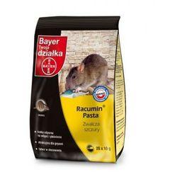 Racumin Pasta 20 x 10 g preparat skutecznie zwalczający myszy, szczury i inne szkodliwe gryzonie