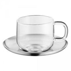 WMF SensiTea Filiżanka ze Stalowym Spodkiem do Herbaty 250 ml