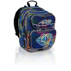 Plecak szkolny Topgal CHI 602 D - Chameleon Blue