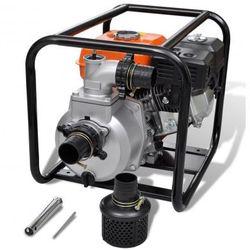 Spalinowa pompa wody 80 mm 6,5 HP Zapisz się do naszego Newslettera i odbierz voucher 20 PLN na zakupy w VidaXL!