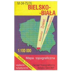 Bielsko-Biała Żywiec Wadowice mapa 1:100 000 WZKart (opr. miękka)