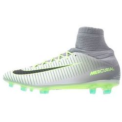 Nike Performance MERCURIAL VELOCE III DF FG Korki Lanki pure platinum/black/ghost green/clear jade/cool grey