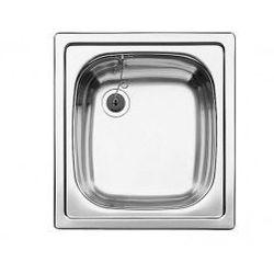 Zlewozmywak stalowy Blanco TOP EE 4x4, wpuszczany w blat - stal matowa 501065