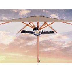 Elektryczny promiennik ogrodowy - trzyramienny grzejnik parasolowy - wiszacy - STROMBOLI