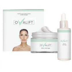 Krem i serum oValift do modelowania konturu twarzy