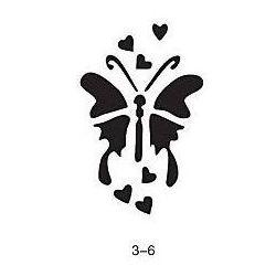 Szablon do błyszczącego tatuażu Fengda 03-06