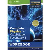 Complete Physics for Cambridge Secondary 1 Workbook (opr. miękka)