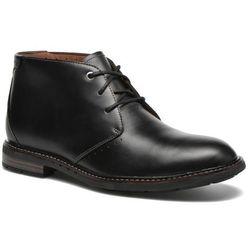 Buty sznurowane Clarks Unelott Mid Męskie Czarne Dostawa 2 do 3 dni