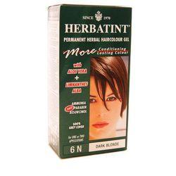Herbatint - NATURALNA trwała farba do włosów - CIEMNY BLOND 6N