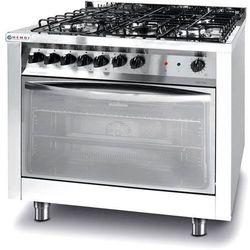Kuchnia Gazowa 5|Palnikowa | z Konwekcyjnym Piekarnikiem Elektrycznym i z Grillem