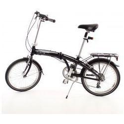Aluminiowy rower składany SKŁADAK MIFA 7- biegów SHIMANO z bagażnikiem