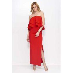 92dd94528d suknie sukienki czerwona sukienka maxi - porównaj zanim kupisz