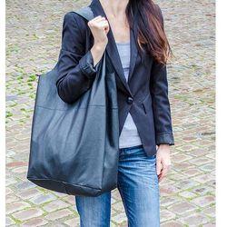 SHOPPER BAG - czarna