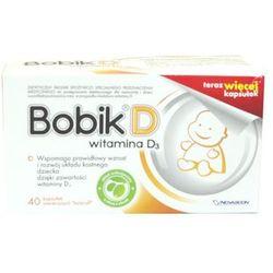 Bobik D (wit.D3) kaps.otwier.twist-off - 40 kaps.