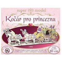 Kočár pro princeznu - super model bez nůžek a lepidla
