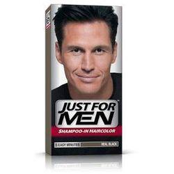 Just For Men H-55 NATURALNA CZERŃ (europejski) Odsiwiacz, Szampon