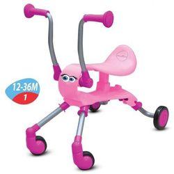 Smart Trike, Springo, rowerek biegowy, jeździk, różowy Darmowa dostawa do sklepów SMYK