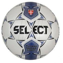 Piłka nożna halowa SELECT Futsal Mimas Light biało-granatowa