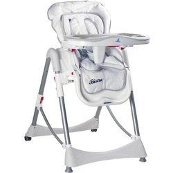 Krzesełko do karmienia CARETERO Bistro biały + DARMOWY TRANSPORT!