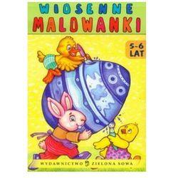 Wiosenne malowanki (5-6 lat) (opr. broszurowa)
