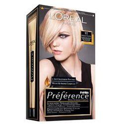 Feria Preference farba do włosów 92 Iridescent Blonde Bardzo jasny blond beżowo-perłowy