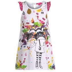 Cakewalk SOLAR Sukienka z dżerseju bright white