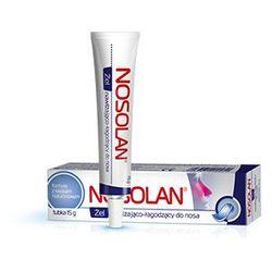 NOSOLAN żel nawilżająco-łagodzący do nosa z kwasem hialuronowym i glicerolem 15g