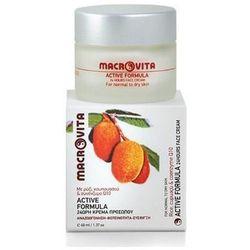 Macrovita - Active formula - Rewitalizujący krem do cery normalnej i suchej z bio-ryżem, cupuacu i koenzymem Q10 - 40 ml