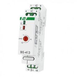 230V 16A Przekaźnik bistabilny impulsowy z wyłącznikiem czasowym na szynę BIS-413 F&F 4079