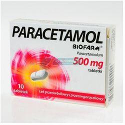BIOFARM PARACETAMOL 500 mg 10 tabletek
