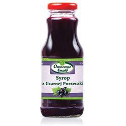Syrop z czarnej porzeczki BIO 250ml - Owocowe Smaki