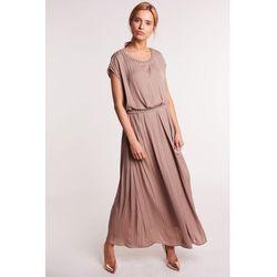 96d585fdd suknie sukienki sukienka wieczorowa midi afrodyta czerwona (od ...