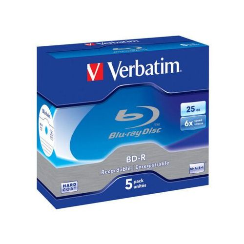 BD-R VERBATIM 25GB X6 (5 JEWEL CASE)