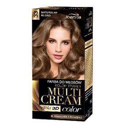 Joanna Multi Cream Color Farba nr 33 Naturalny Blond