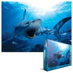 29-000299 Puzzle Wygłodniały rekin