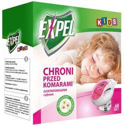Urządzenie elektryczne + płyn na komary 60 nocy 36,2ml Expel Kids