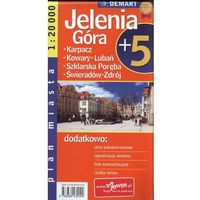 JELENIA GÓRA PLUS 5. PLAN MIASTA (opr. broszurowa)