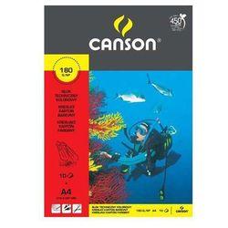 Blok techniczny Canson A4/10k. 6666173 kolorowy