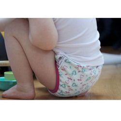 Close Parent - Majtki Treningowe Szybkoschnące-Tulipan M na dzień